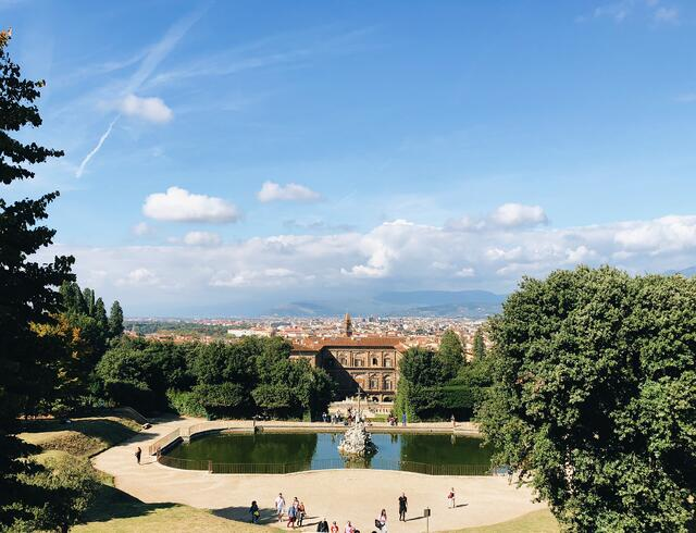 The view from the Boboli Gardens!
