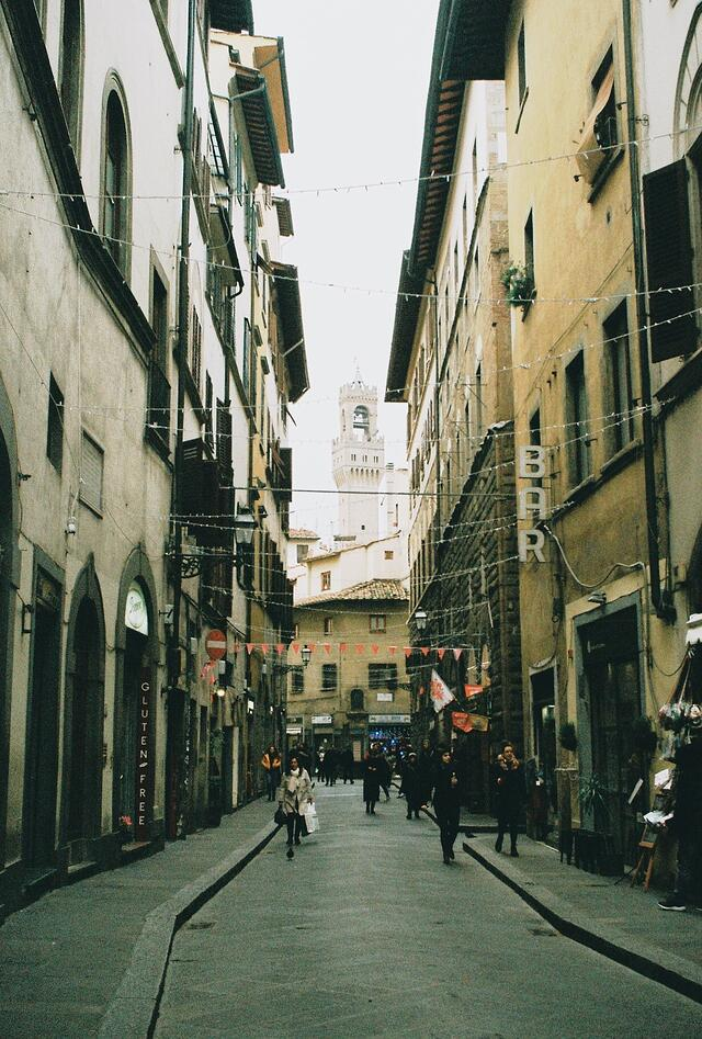 Streets of Florence_35 mm Film