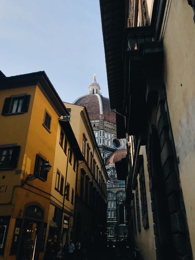 Unique Shot of Il Duomo in Florence
