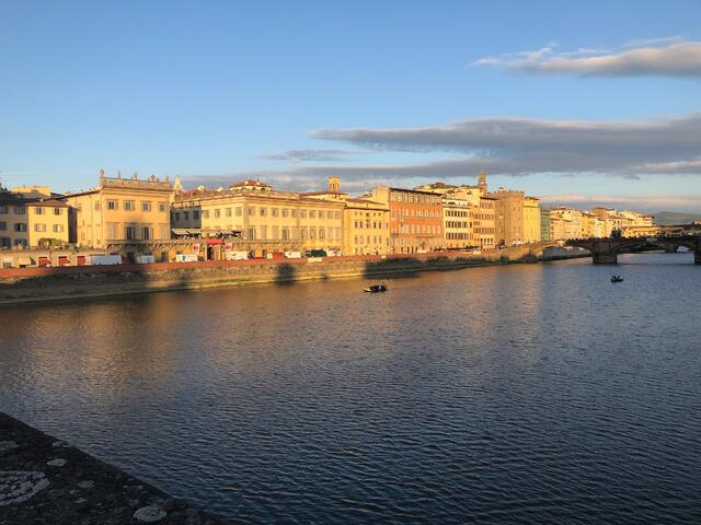The Arno in September