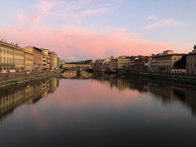 The Arno in October