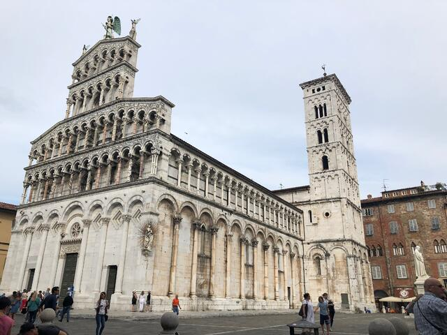 A Cathedral in Lucca, Italy