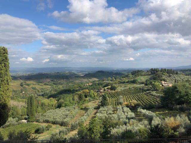 CAPAStudyAbroad_Fall2019_Florence_Sarah Graham_San Gimignano