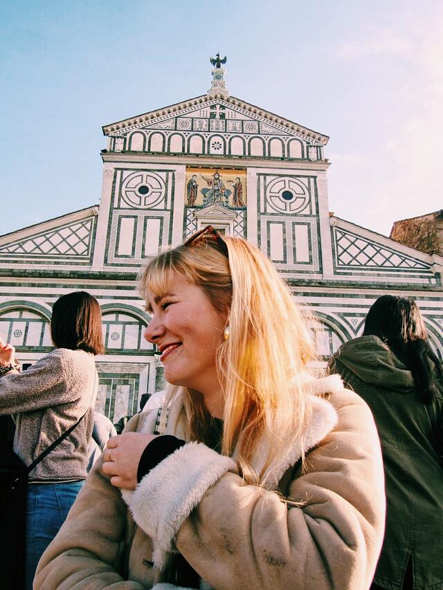 Brielle Saggese in Florence