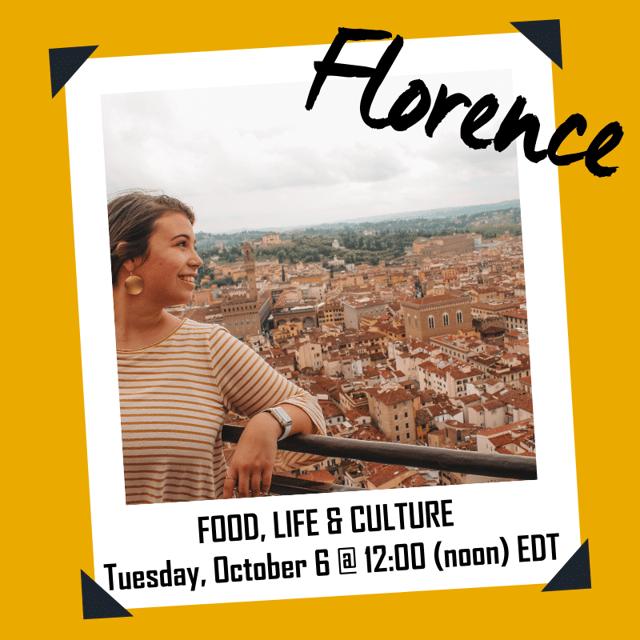 Virtual MGC Events - Florence