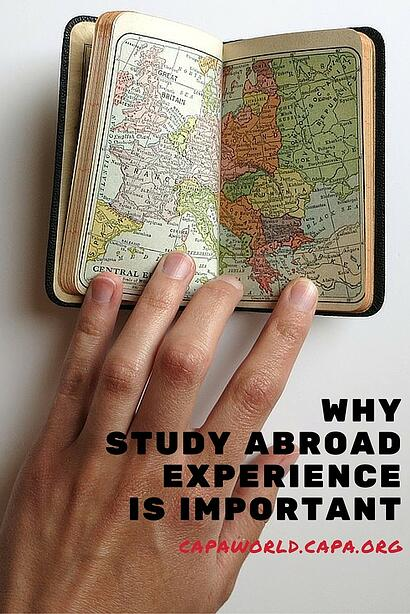 Why Study Abroad Experienec is Important