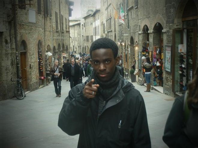 Jonathan Boyden CAPA Florence study abroad