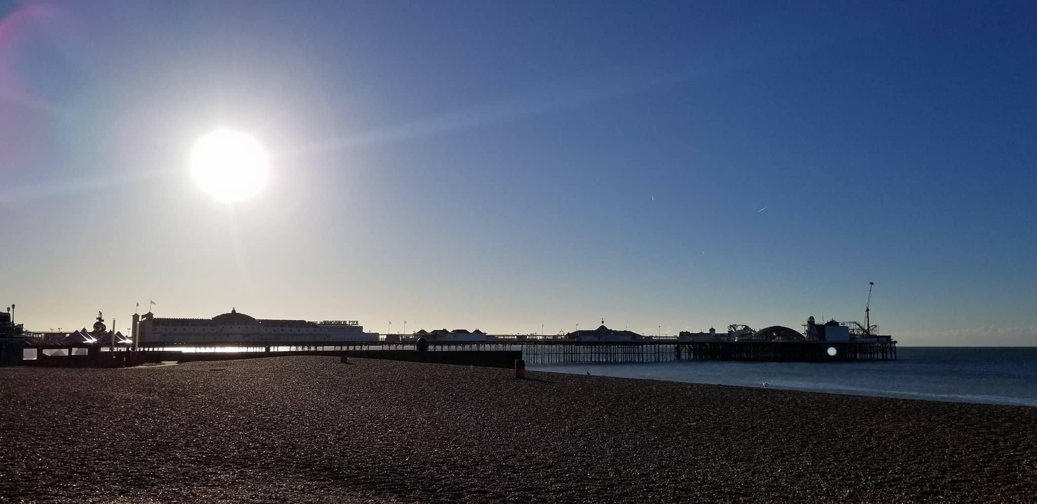 CAPAStudyAbroad_London_Fall2017_From Thaddeus Kaszuba - Brighton Pier from the Beach.jpg