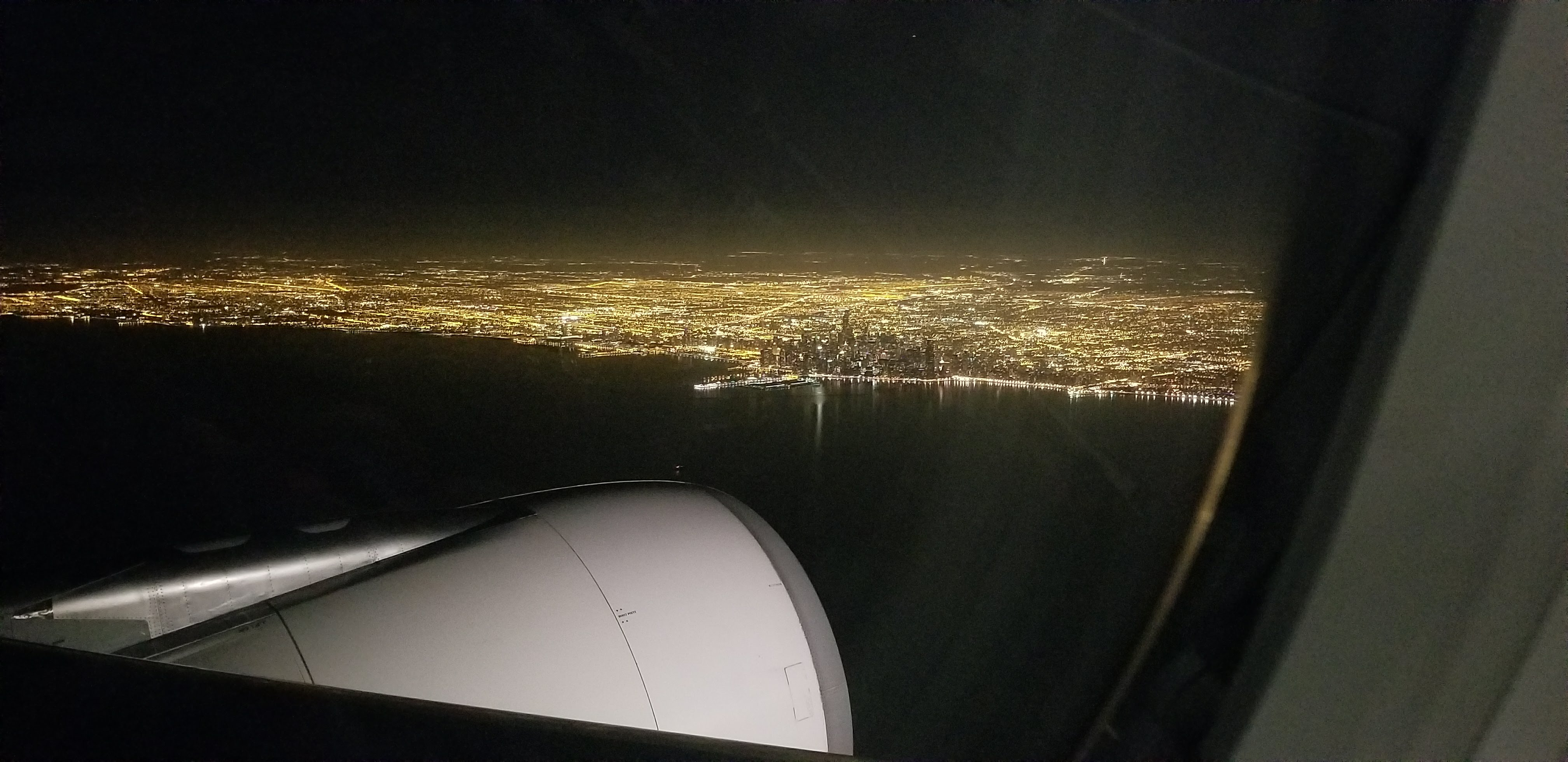 CAPAStudyAbroad_London_Fall2017_From Thaddeus Kaszuba - Downtown Chicago Skyline as I prepare to land in the US after 5 Months.jpg