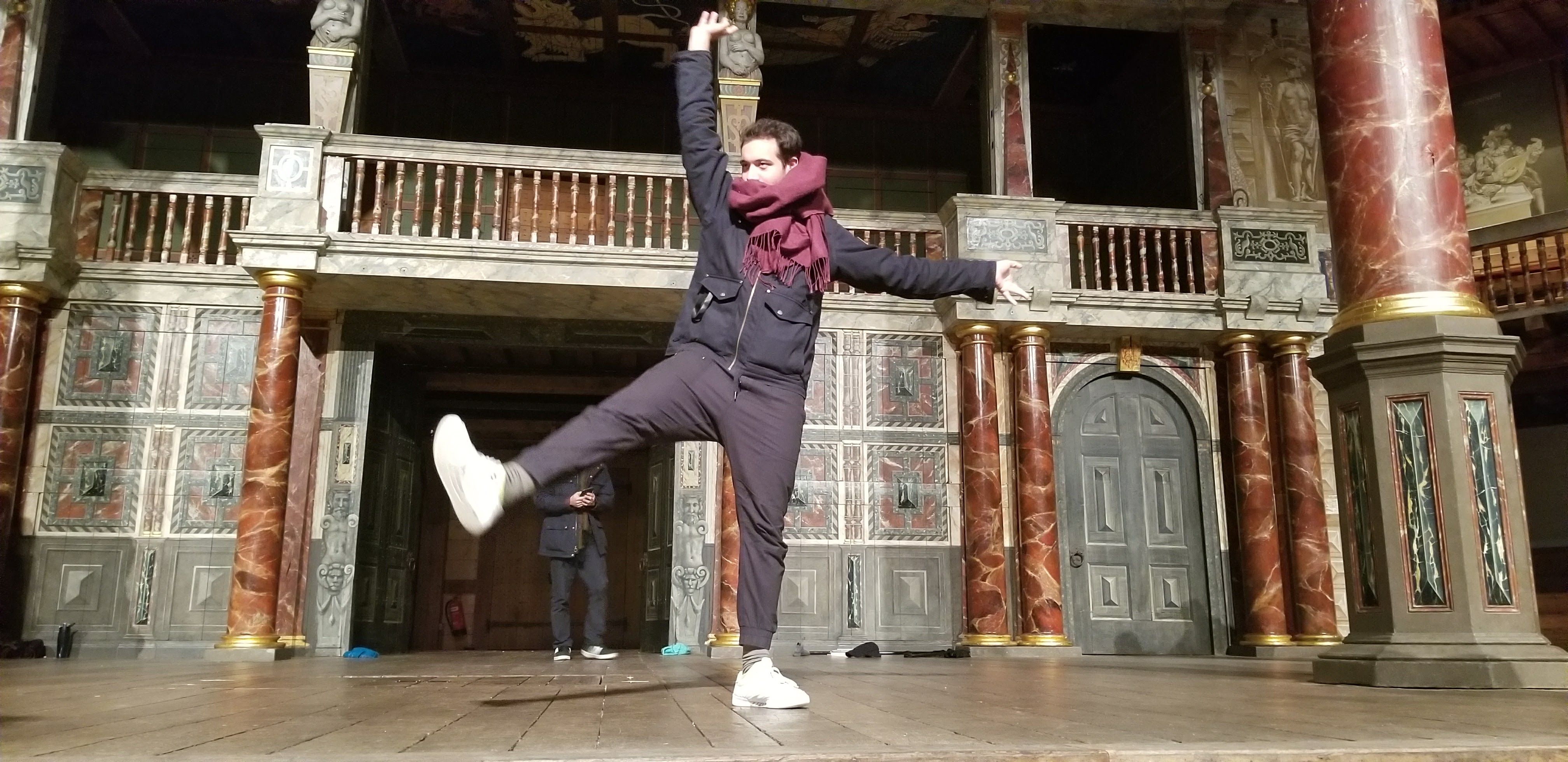 CAPAStudyAbroad_London_Fall2017_From Thaddeus Kaszuba - Goofing on the Globe Stage.jpg