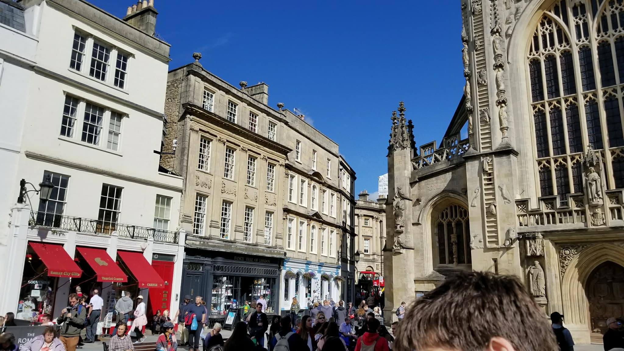 CAPAStudyAbroad_London_Fall2017_From Thaddeus Kaszuba - Just outside of the Roman Baths in Bath.jpg