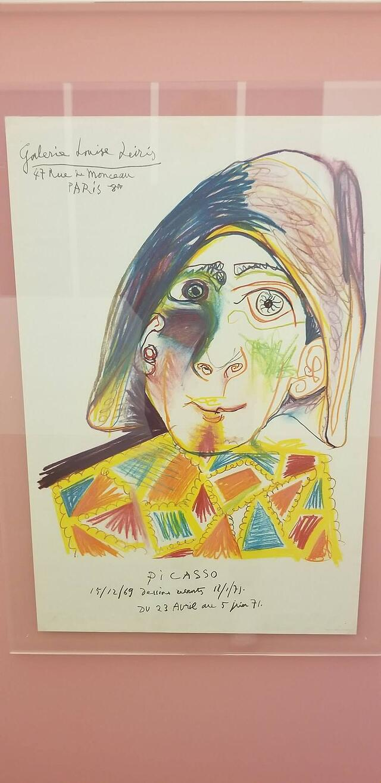 CAPAStudyAbroad_London_Fall2017_From Thaddeus Kaszuba - Picasso-inspired drawing of Commedia's Character Arlechino.jpg
