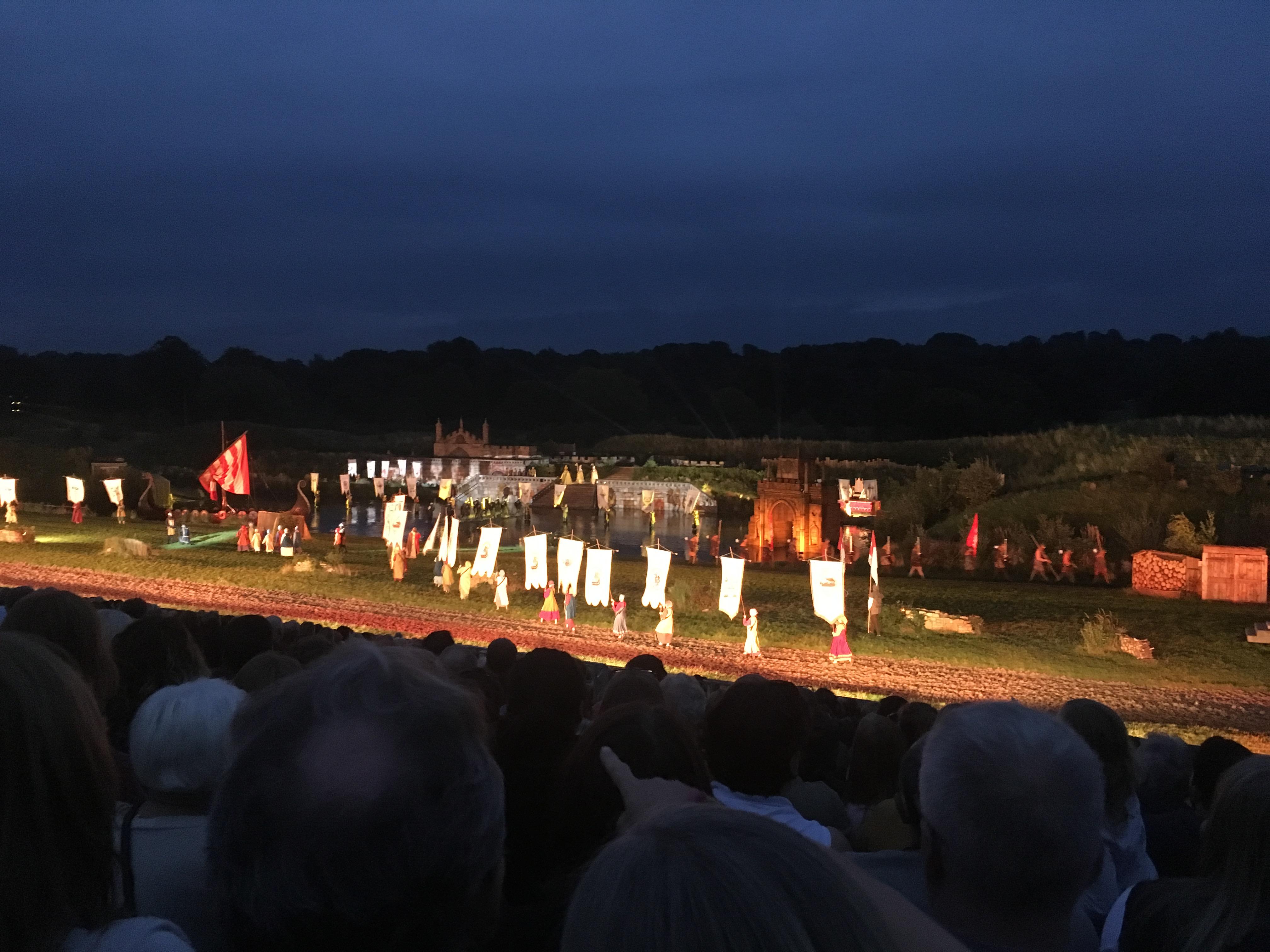 A Ceremony Scene from Kynren