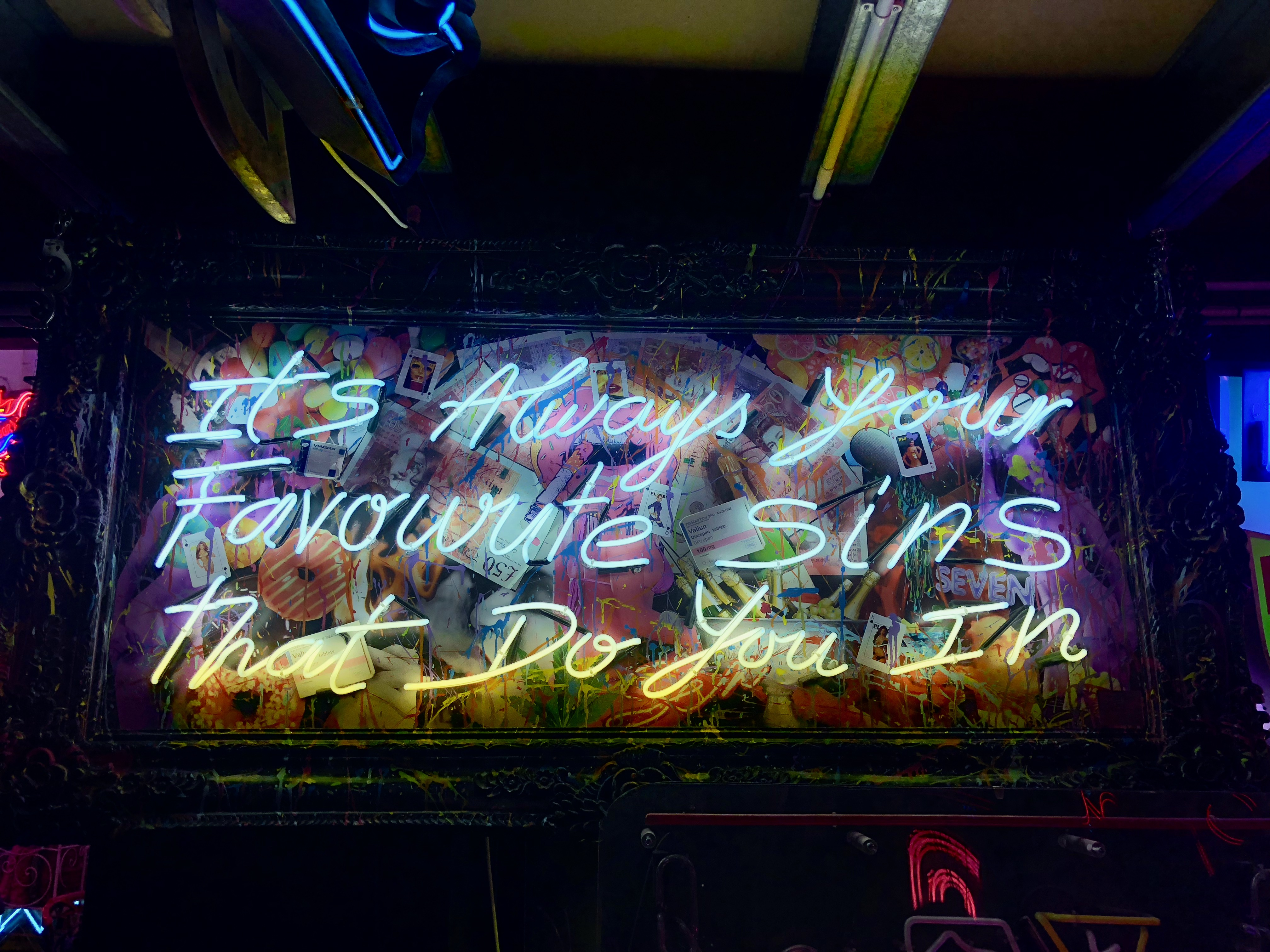 CAPAStudyAbroad_London_Spring2018_From Kelly Allen - A Neon Sign in God's Own Junkyard