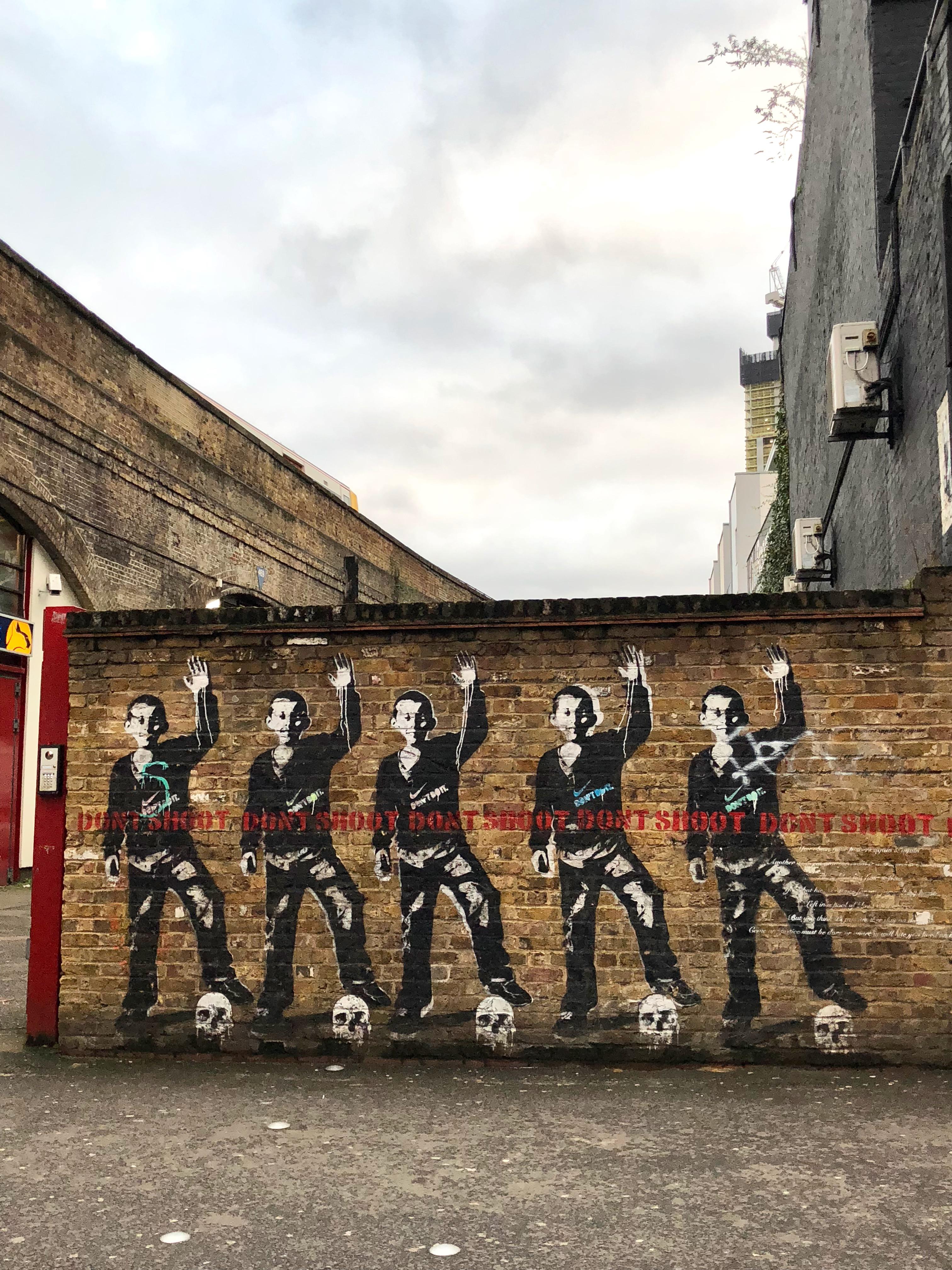 CAPAStudyAbroad_London_Spring2018_From Kelly Allen - Banksy Art