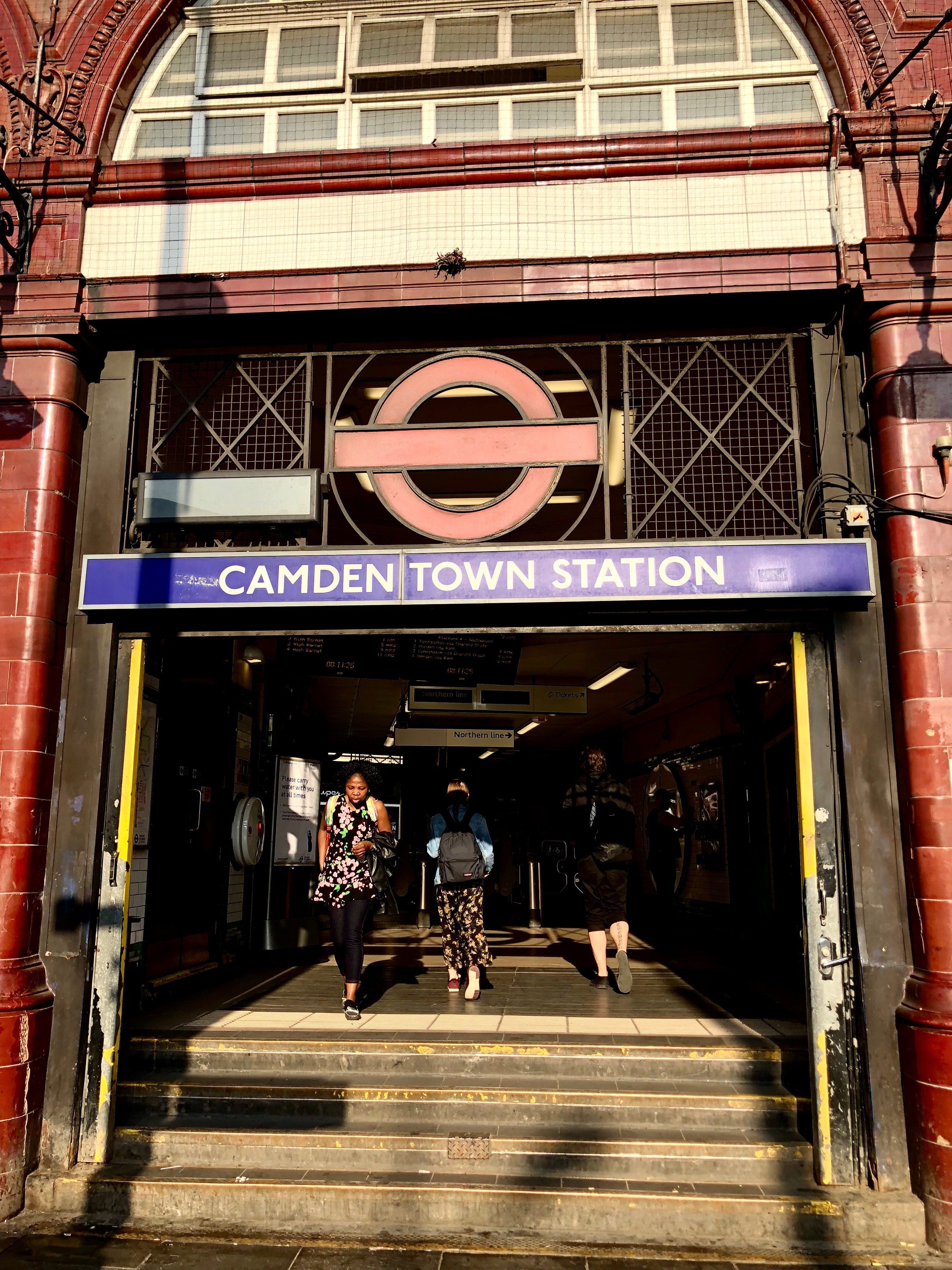CAPAStudyAbroad_London_Spring2018_From Kelly Allen - Camden Tube Station