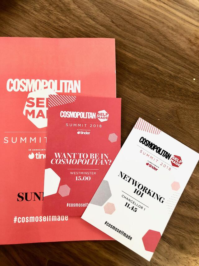 Cosmopolitan Self Made Summit Program