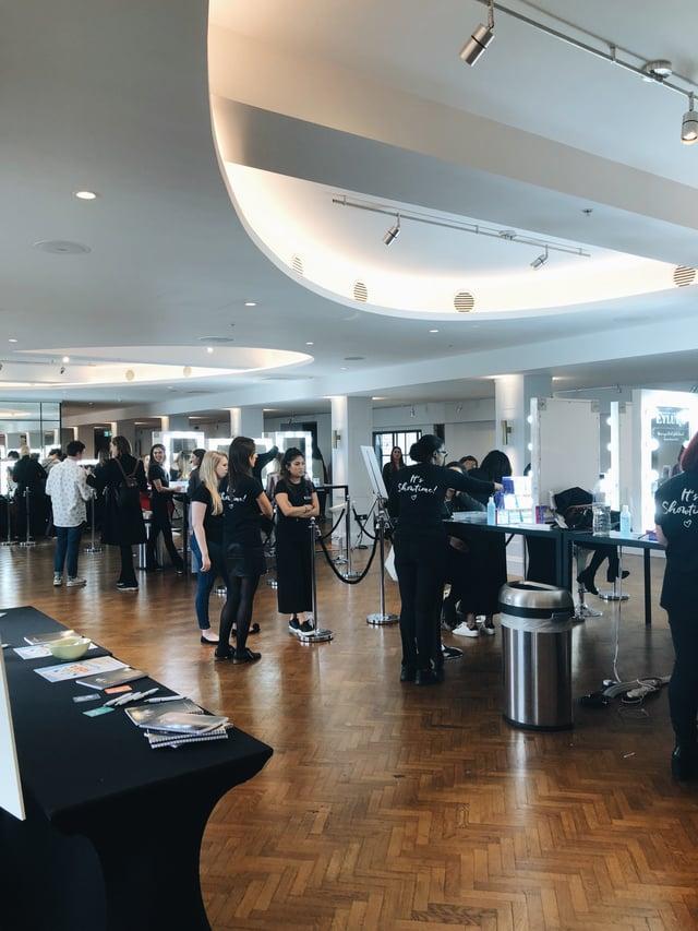 Hair, Makeup, and Nails Booth at the Cosmopolitan 2018 Self-Made Summit