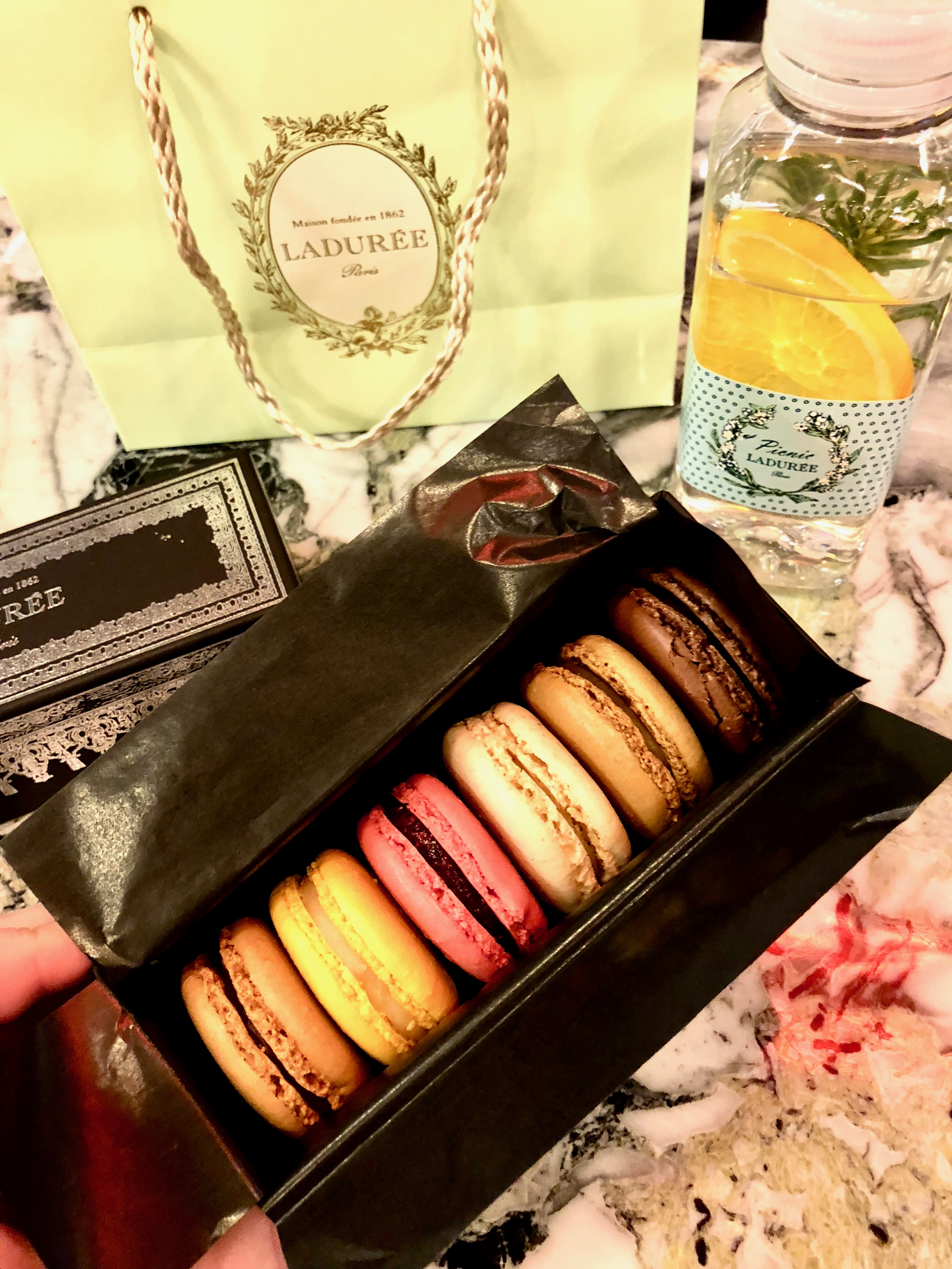 CAPAStudyAbroad_London_Spring2018_From Kelly Allen - Ladurée macarons from Paris, France