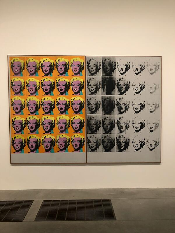 Pop Art in Tate Museum