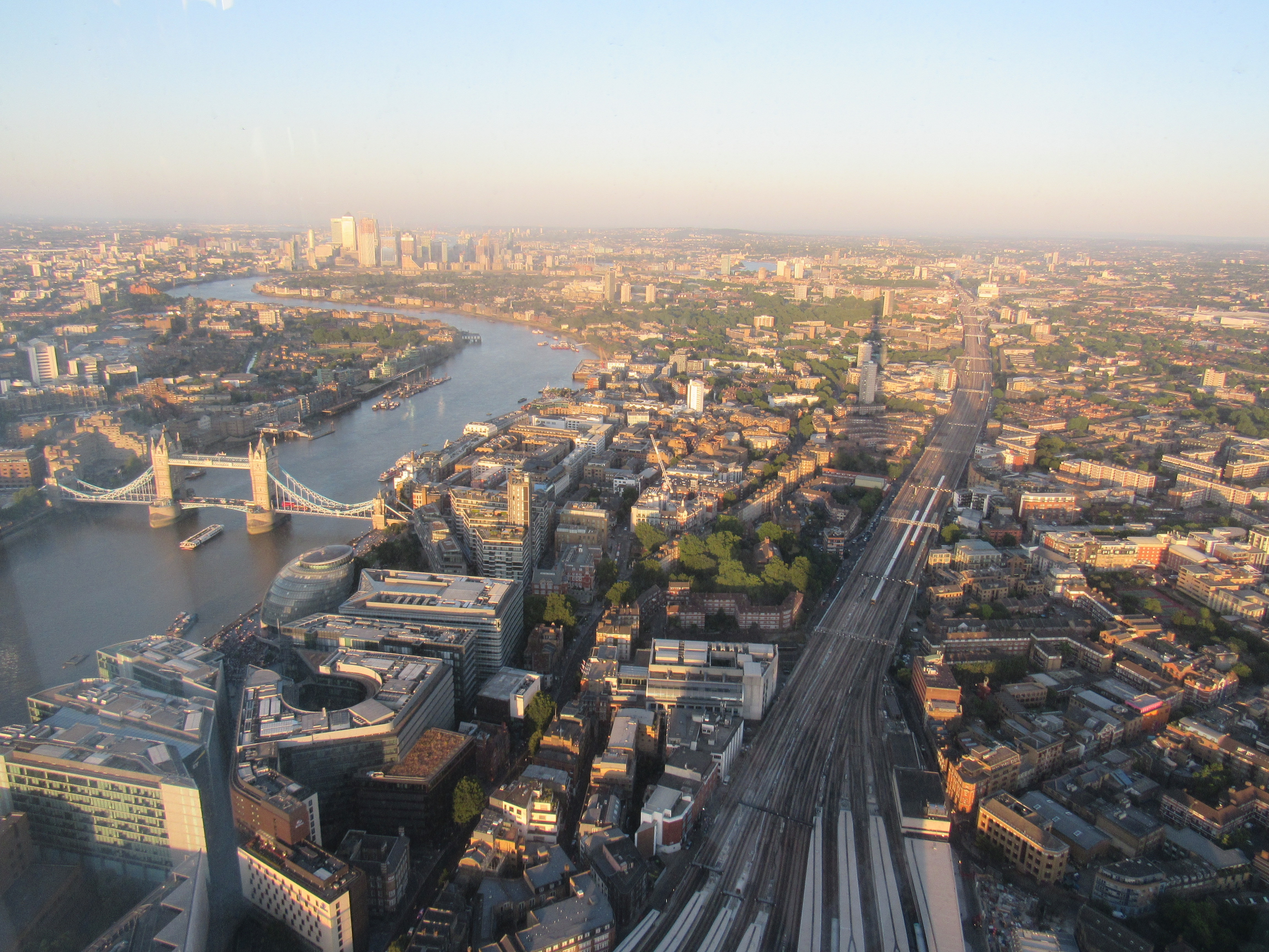 CAPAStudyAbroad_London_Summer2018_From Alice Ding - A View of London from The Shard