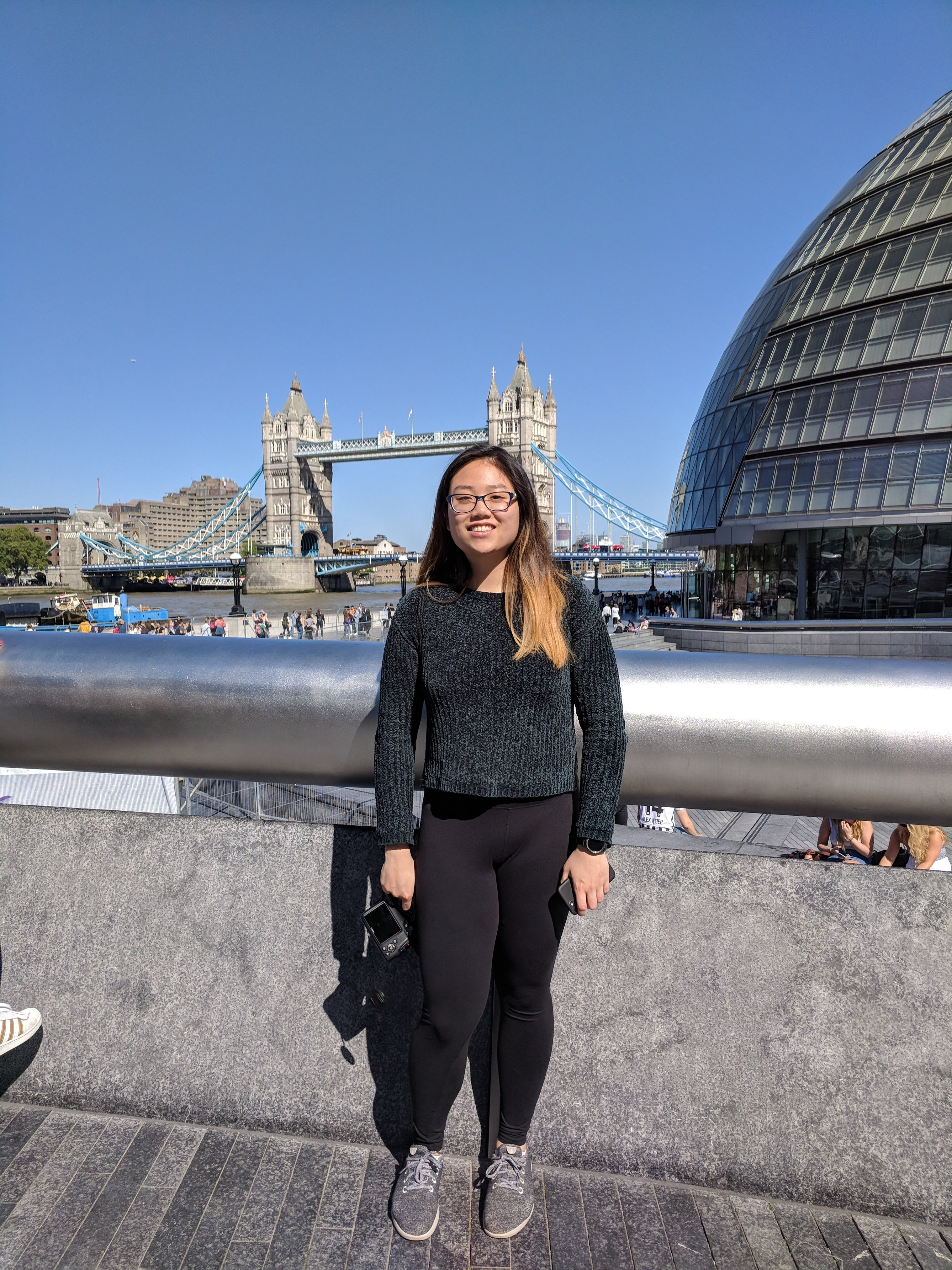 CAPAStudyAbroad_London_Summer2018_From Alice Ding - In Front of Tower Bridge