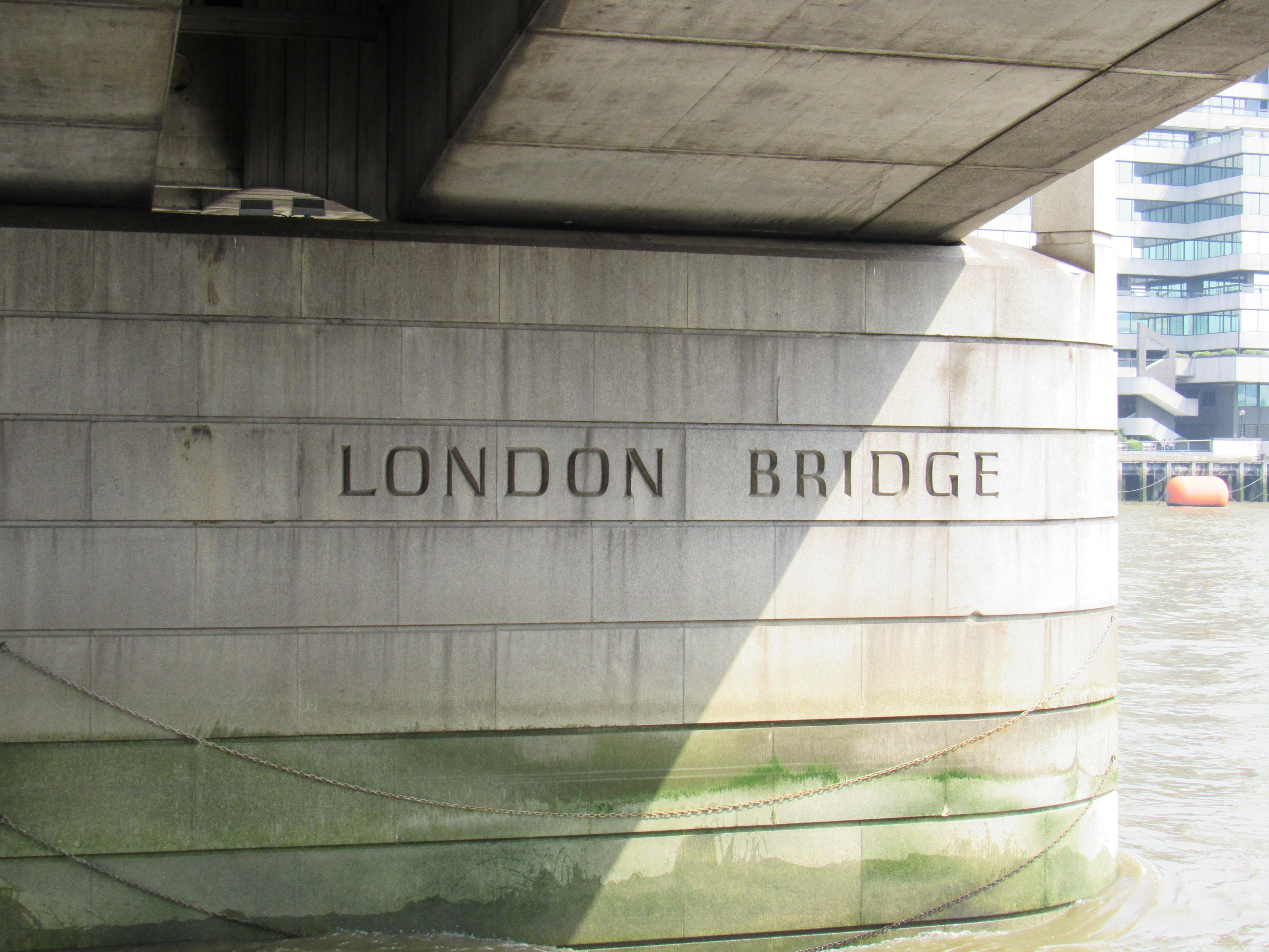 The London Bridge: A Hidden Label of Its Name