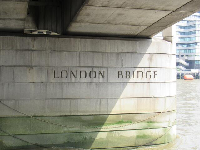 The London Bridge: A Hidden Label of Its Name