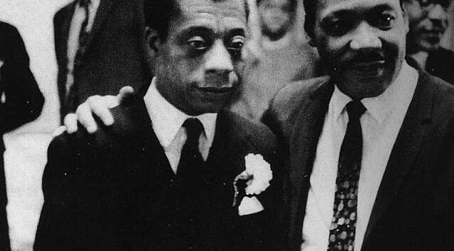 MLK and James Baldwin-credit This Recording