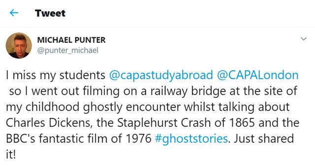 Mike Punter Tweet