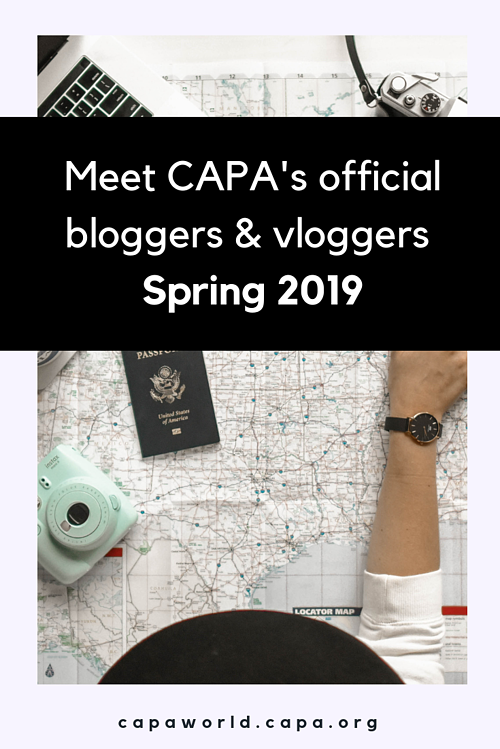 Meet CAPA's official bloggers & vloggers Spring 2019