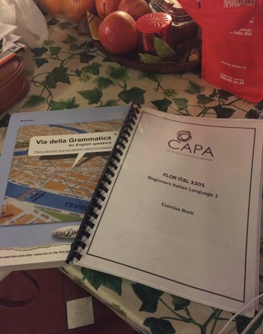 CAPAStudyAbroad_Florence_Spring2016_From Marte Eggleston - Language