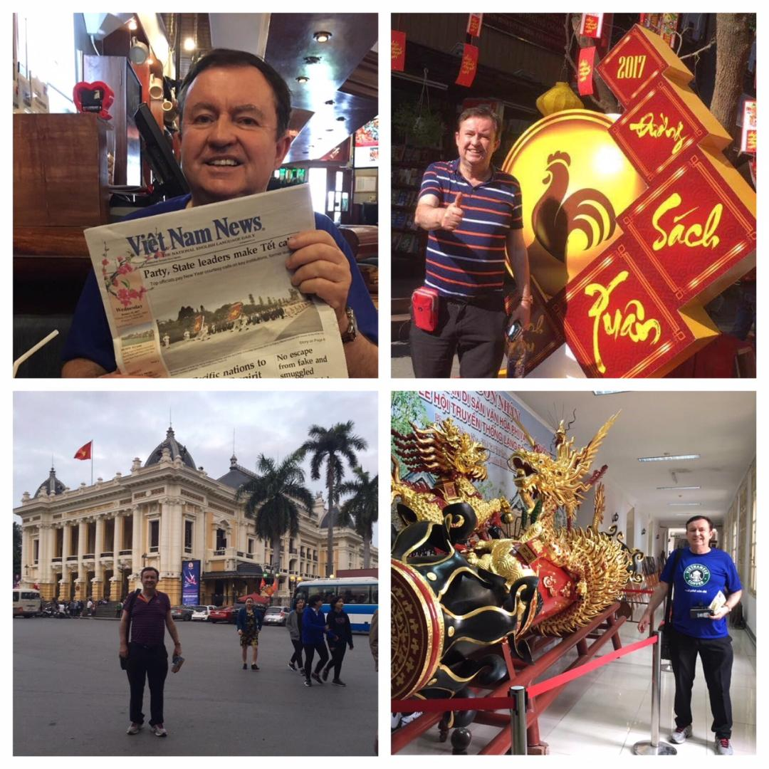 Chinese New Year in Ho Chin Minh and Hanoi in Vietnam