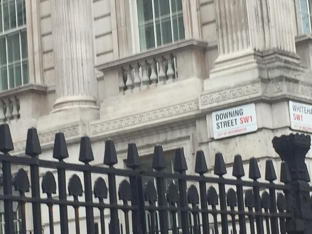 Prime Minister's Downing Street in London