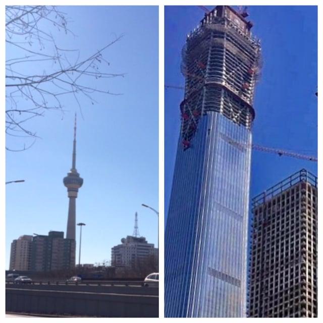 Beijing towers