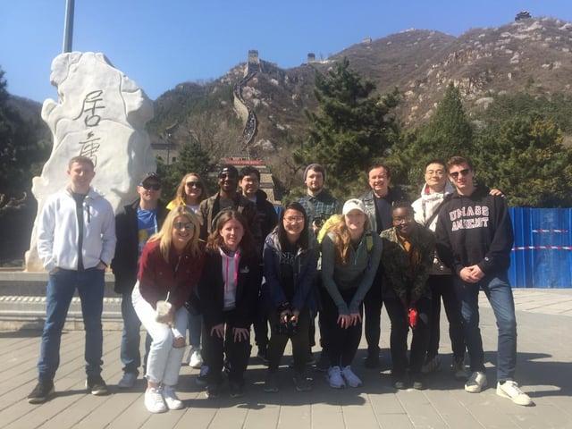 CAPA group at the Great Wall