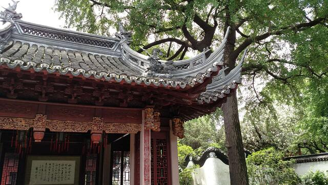CAPAStudyAbroad_Shanghai_Summer2018_From Trisha Sanchez - A Temple Structure at Yu Garden