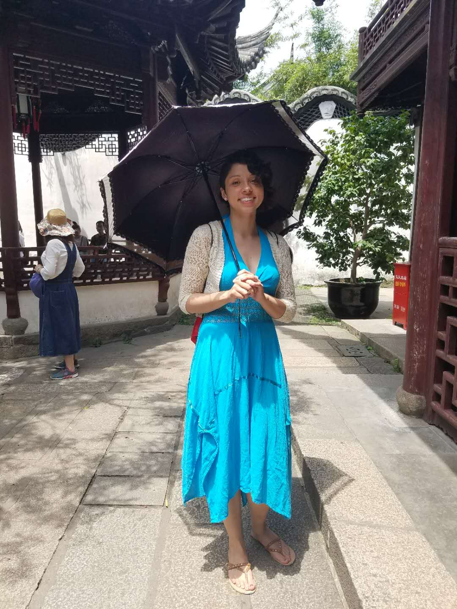 CAPAStudyAbroad_Shanghai_Summer2018_From Trisha Sanchez - Following the Locals and Using a Sun Umbrella