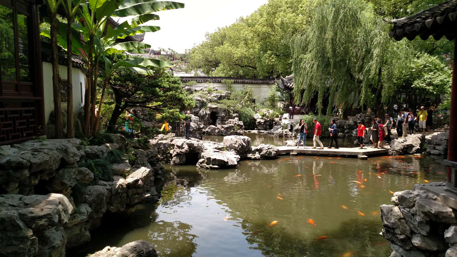 CAPAStudyAbroad_Shanghai_Summer2018_From Trisha Sanchez - Visiting the Yu Garden