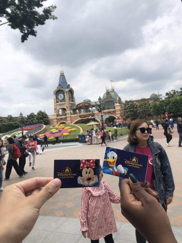 Shanghai Disney tickets