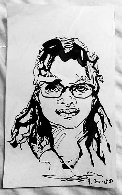Drawing of Imani