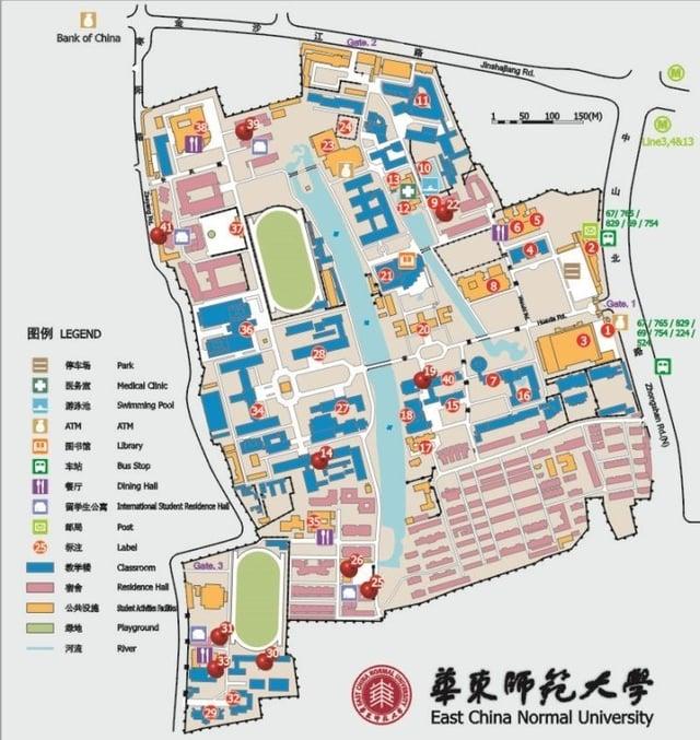 ECNU MAP