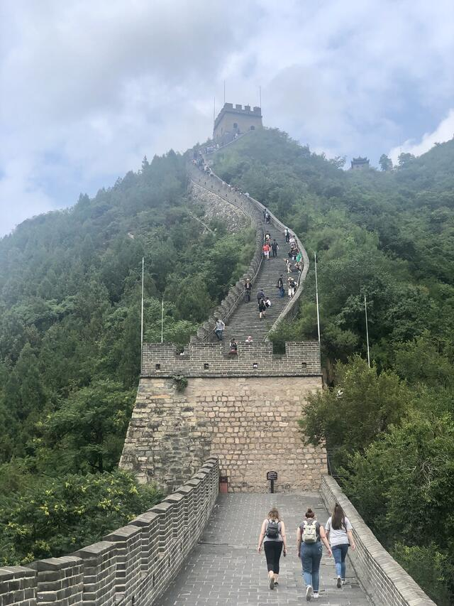 One of the trail of the Great Wall