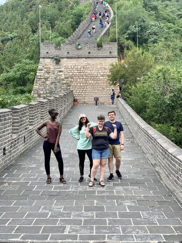 The joy of hiking the Great Wall
