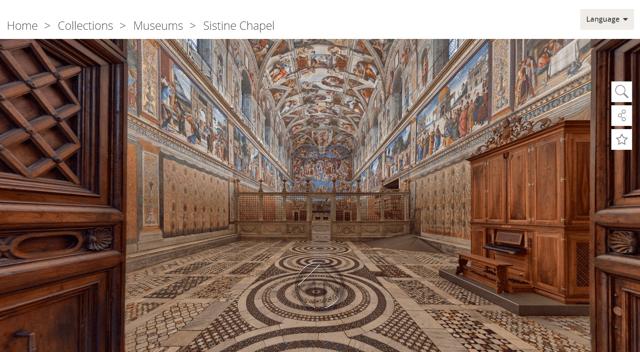 Sistine Chapel Virtual Tour
