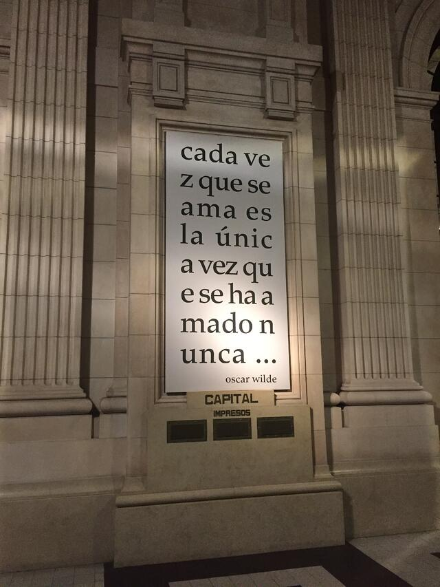 CAPAStudyAbroad_BuenosAires_Spring2018_From Claire Shrader - Oscar Wilde quote