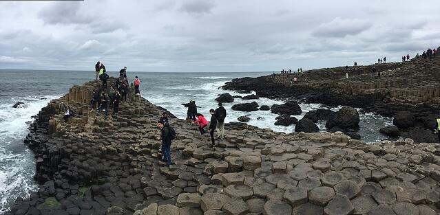 CAPAStudyAbroad_Dublin_Summer2018_From Grace Vitale - Giant's Causeway Pano