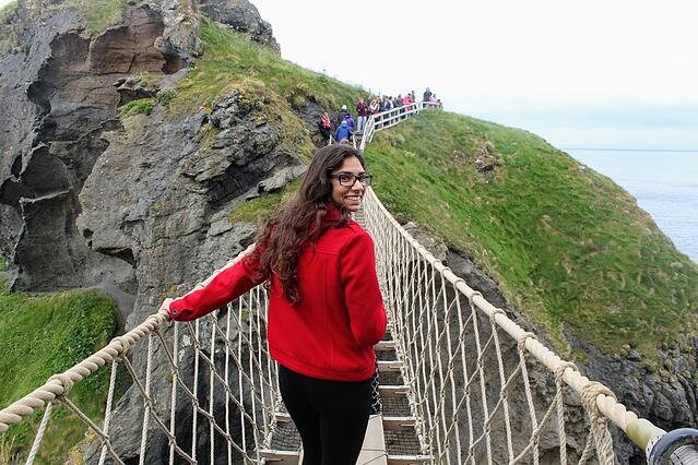 CAPAStudyAbroad_Dublin_Summer2018_From Grace Vitale - Rope Bridge