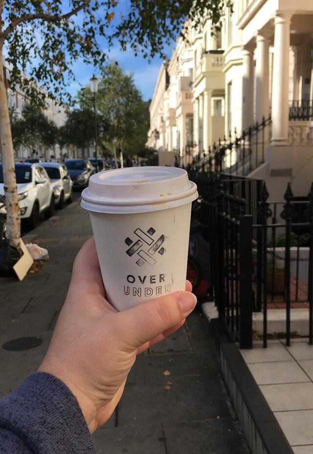 CAPAStudyAbroad_London_Fall2018_From Liz Autry - coffee