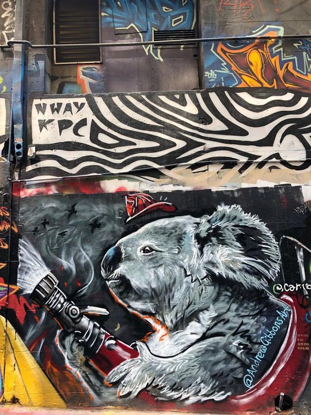 CAPAStudyAbroad_Sydney_Spring 2020_Emma Estabrook_KoalaStreetArt